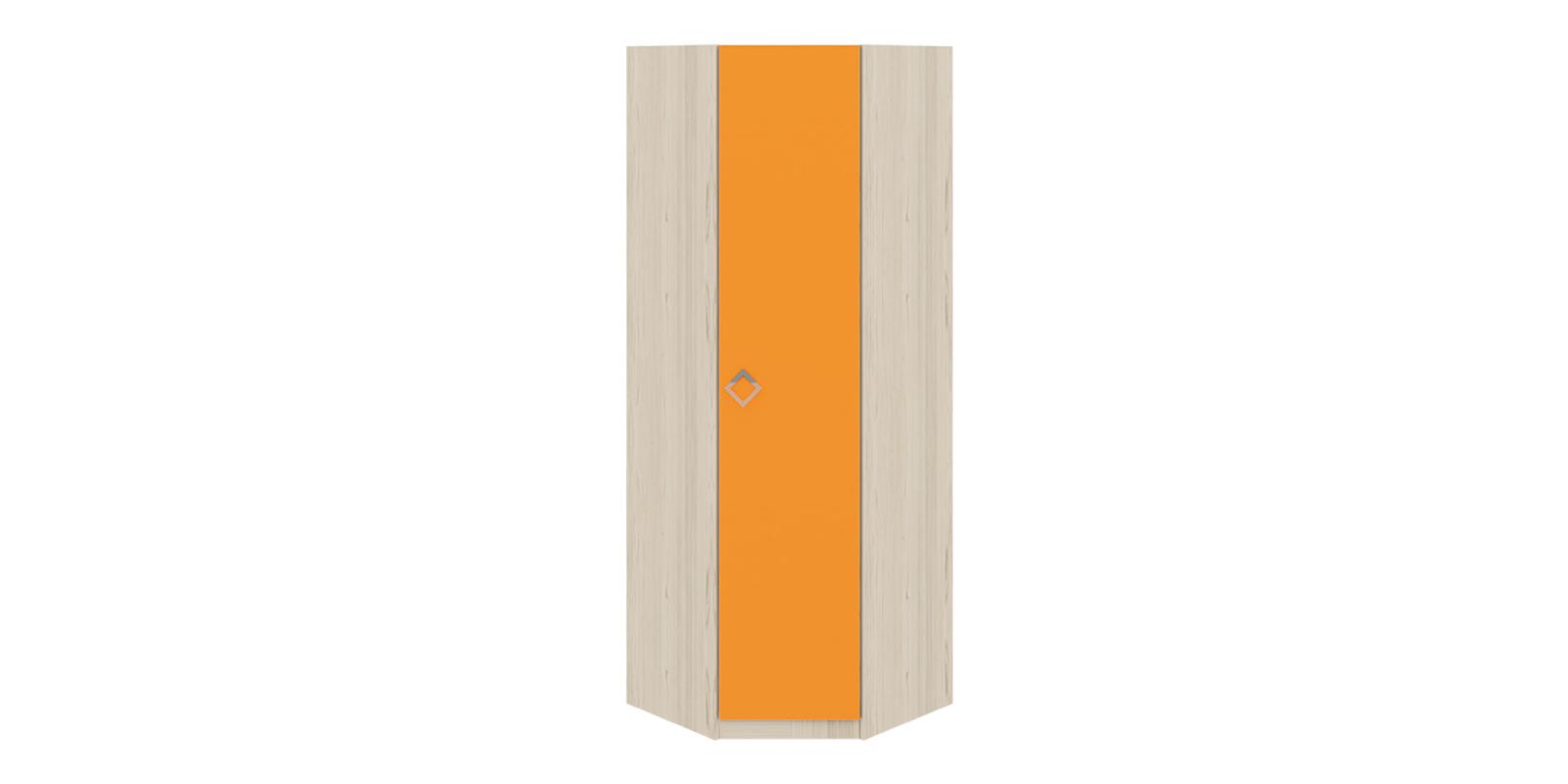 Шкаф распашной угловой Салоу универсальный угол (каттхилт/манго)