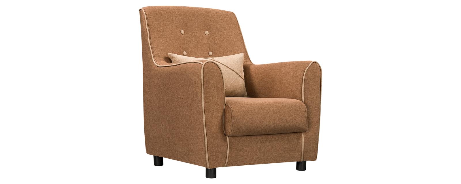 Кресло тканевое Френсис Kiton песочный/бежевый (Ткань)