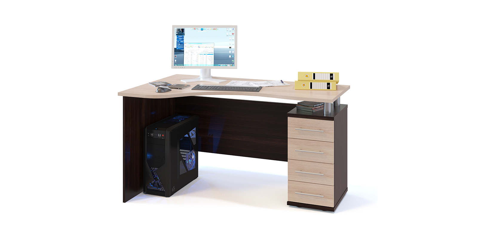 Стол компьютерный HomeMe Мерида AFU0079000