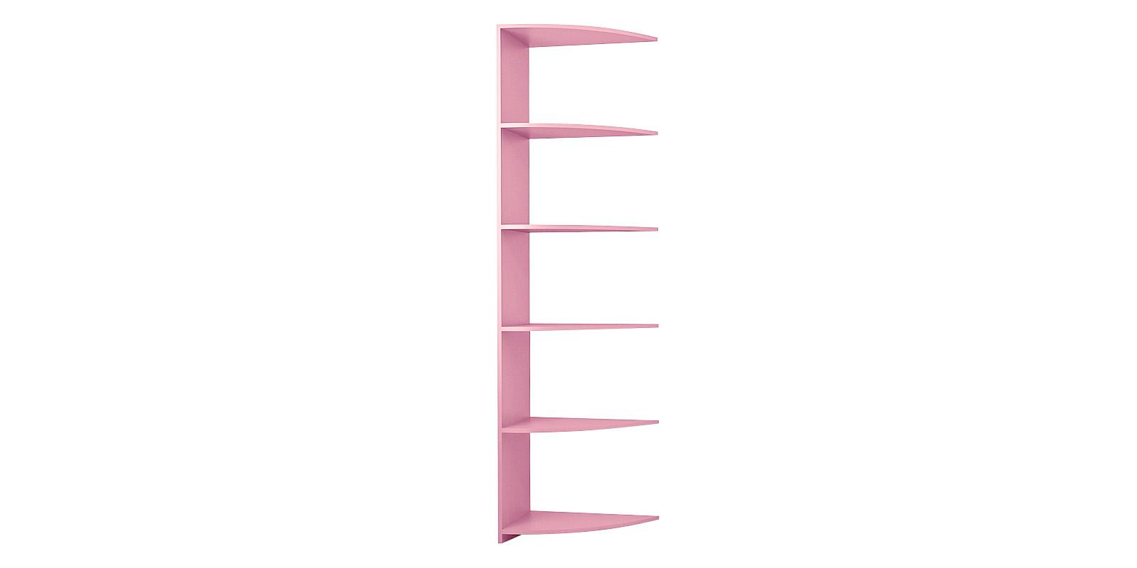 Стеллаж секционный Нова вариант №3 (розовый)