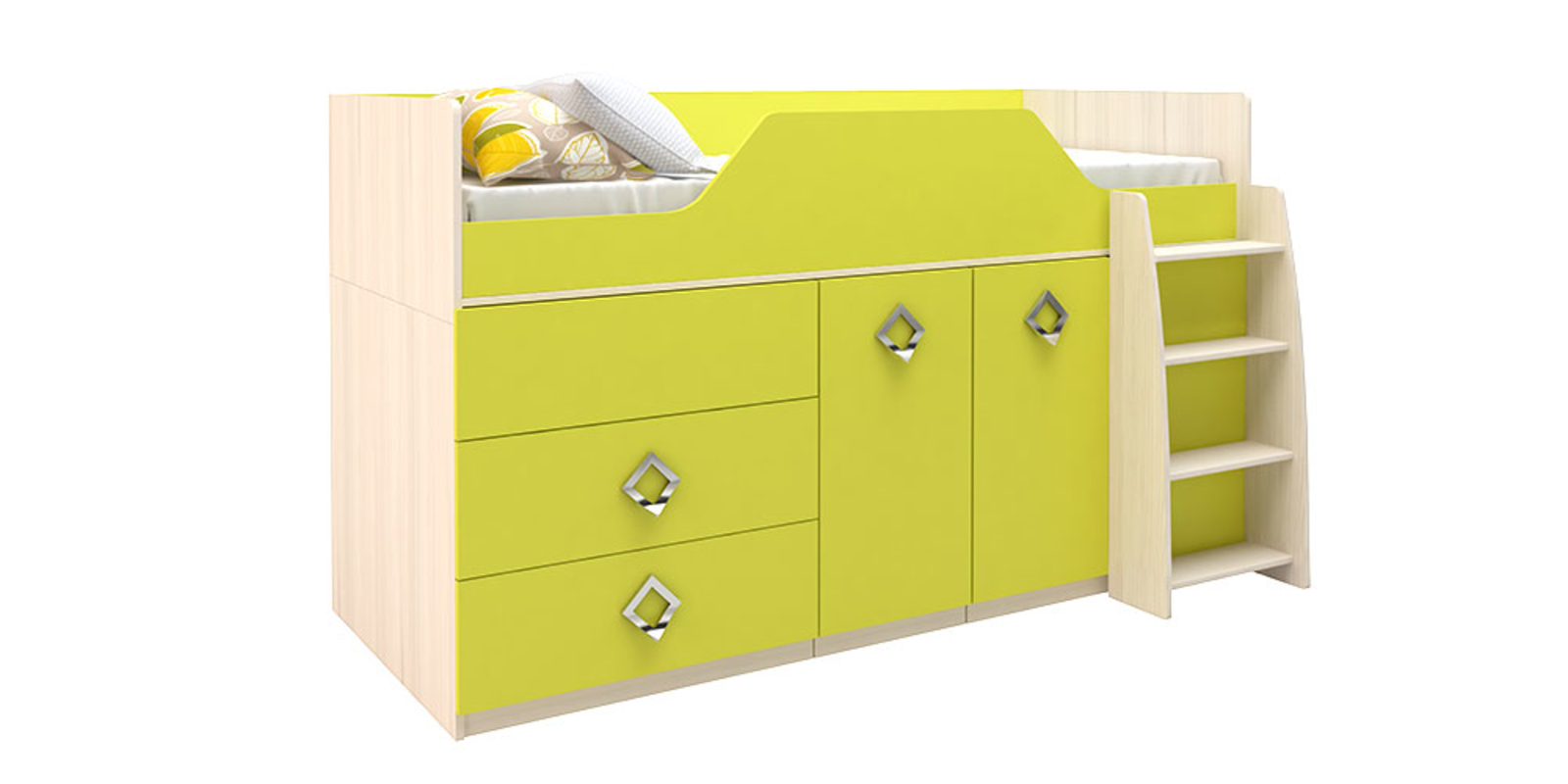 Кровать односпальная HomeMe Салоу SLM0070000