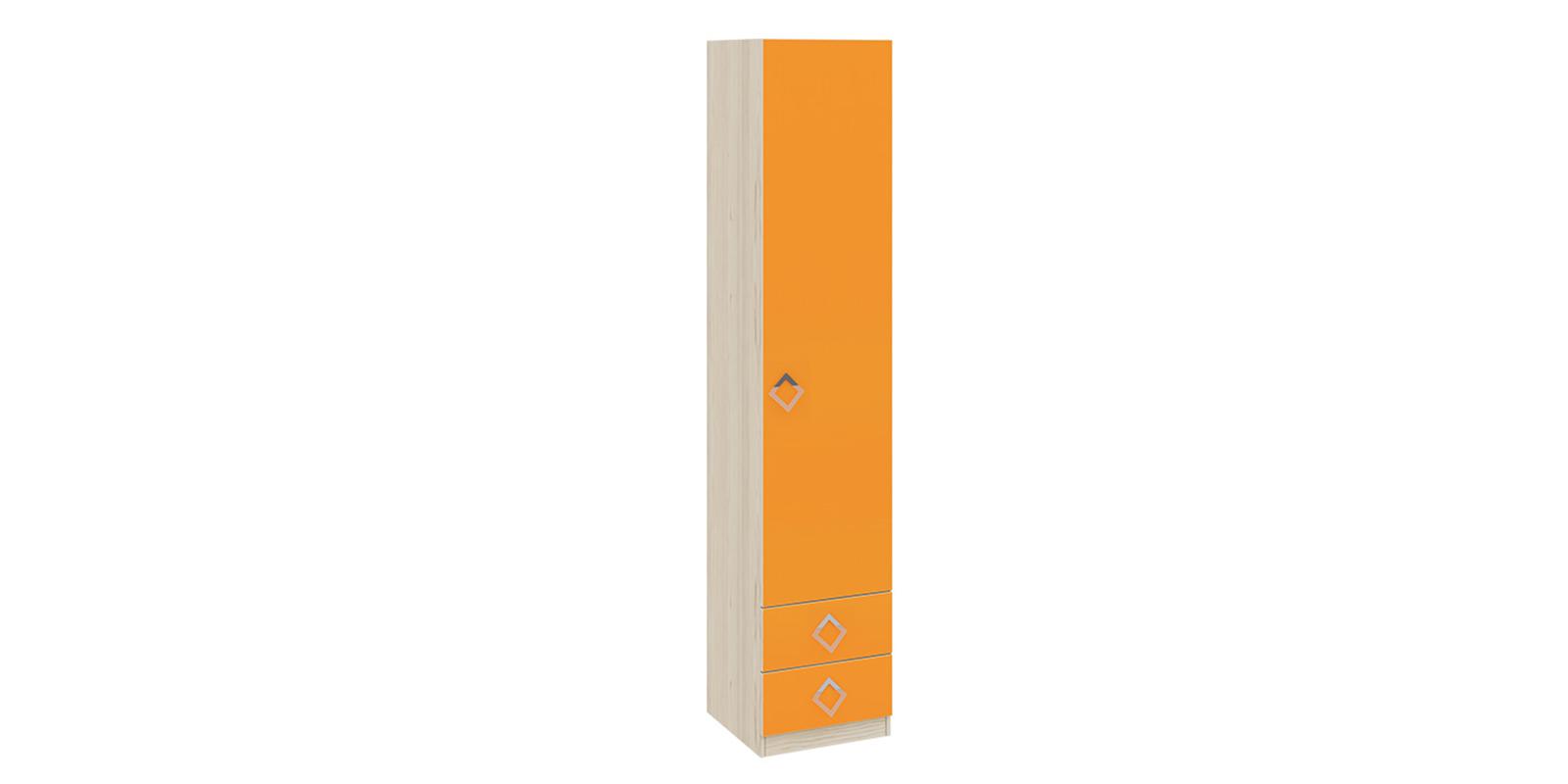 Шкаф распашной однодверный Салоу вариант №2 (каттхилт/манго)