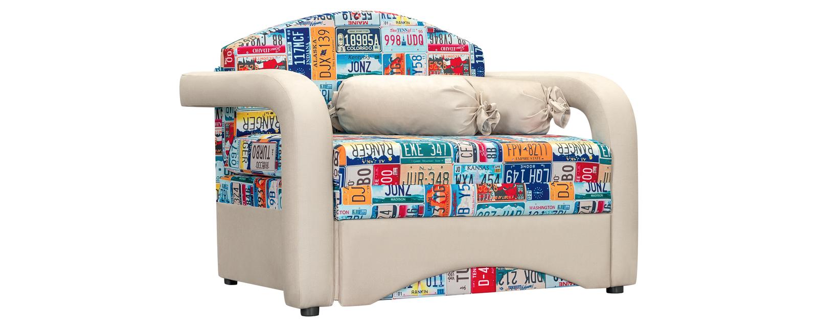 Кресло тканевое Эдем Cadilak синий (Ткань)