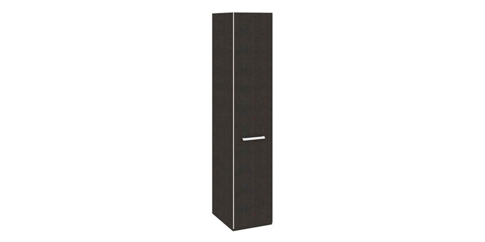 Шкаф распашной однодверный Калгари вариант №1 (дуб кастано)