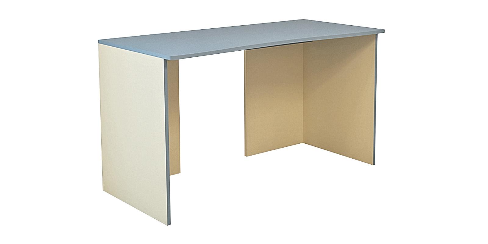 Стол письменный Нова 120 см (бежевый/голубой)
