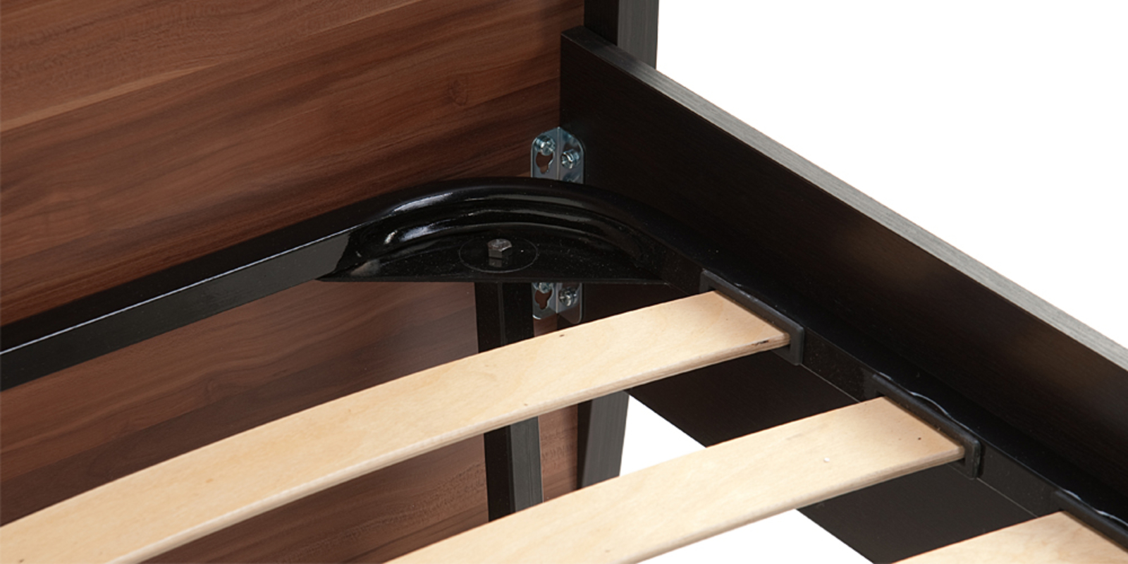 Кровать каркасная Корсика без подъемного механизма (Слива валлис) от HomeMe.ru