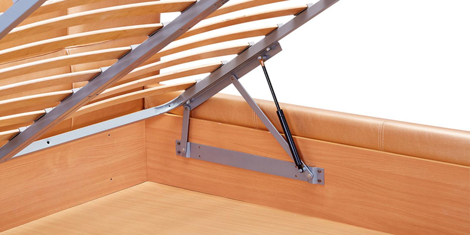 Кровать мягкая Лайф с подъемным механизмом (Золото) от HomeMe.ru