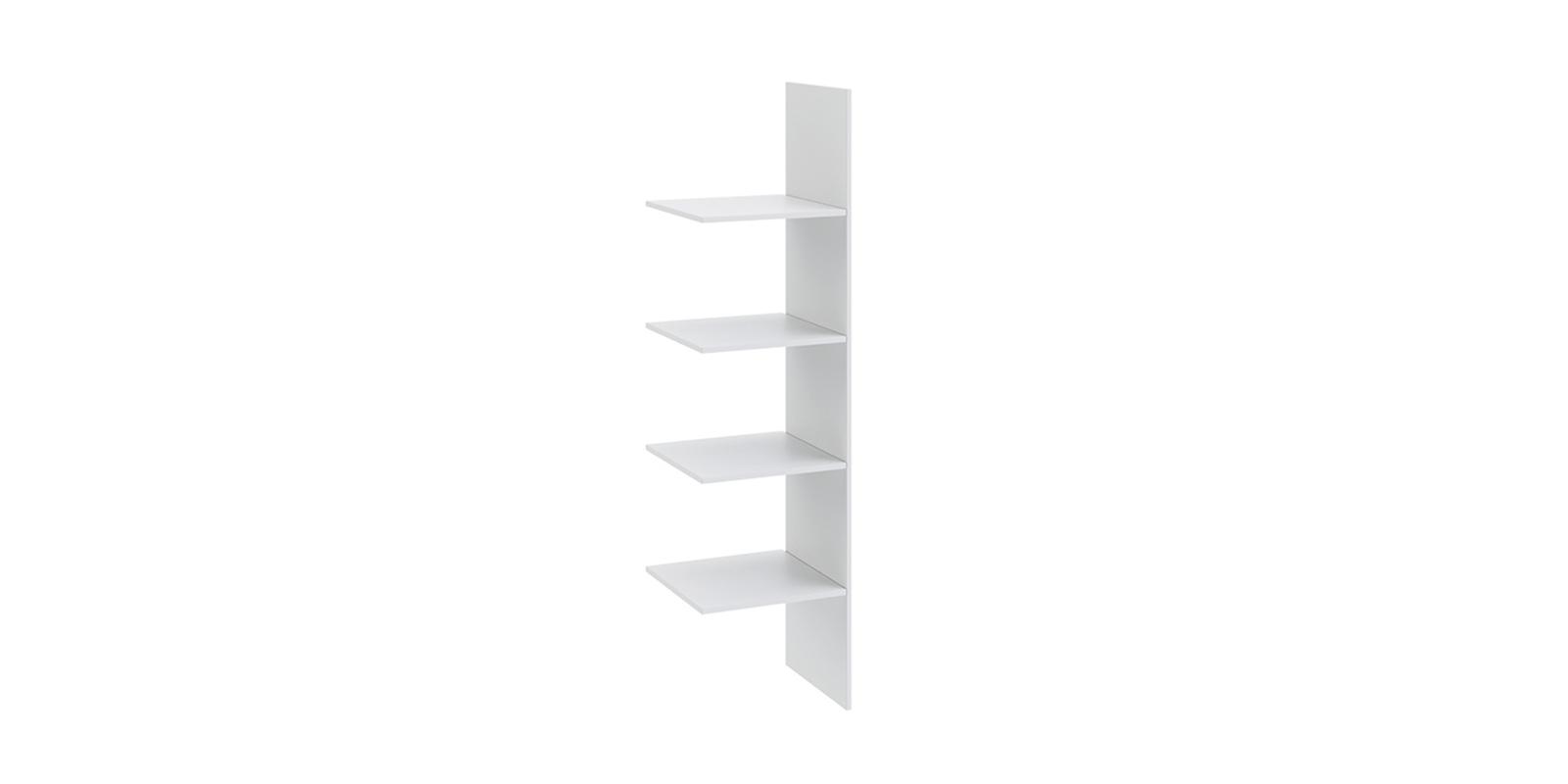 Аксессуары для шкафов Мерида 35/41 вариант №1  (белый)