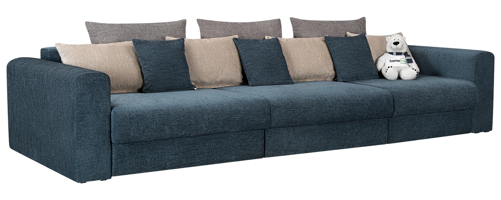 Модульный диван Медисон Вариант №1 Anabelle синий (Шенилл)