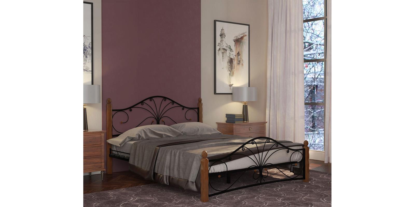 Кровать HomeMe Фортуна от Homeme.ru