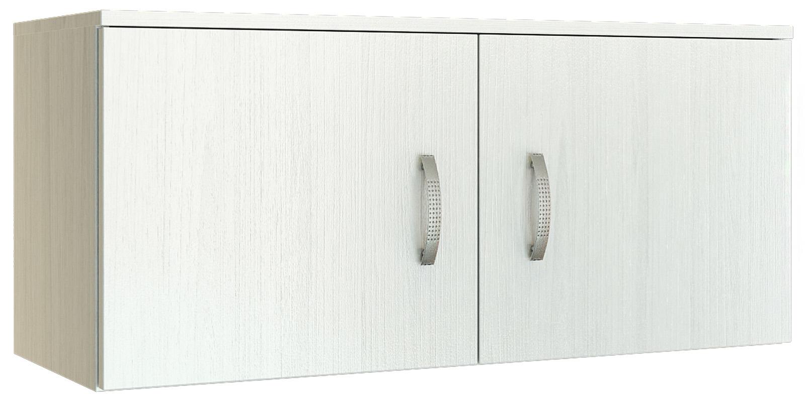 Шкаф навесной Хельга антресоль 90 см (белый) Хельга