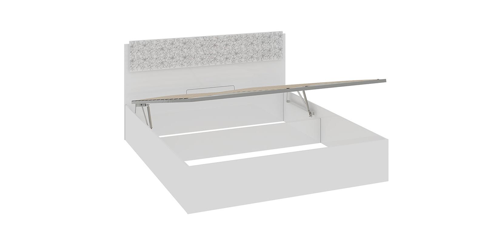 Кровать каркасная 200х160 Давос с подъемным механизмом (Белый)