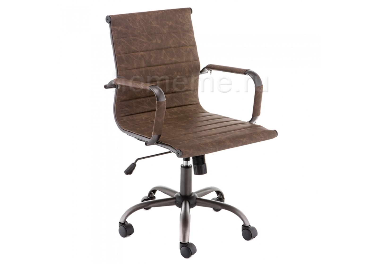 Кресло для офиса HomeMe Harm coffee 11270 от Homeme.ru