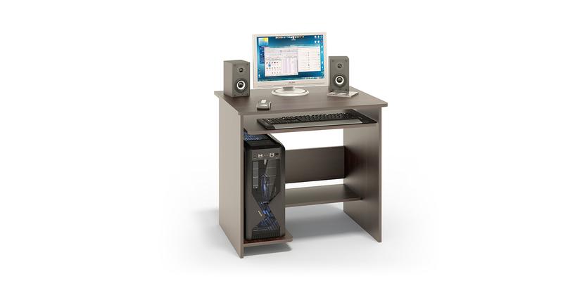 Стол компьютерный Рико вариант №1 (венге)