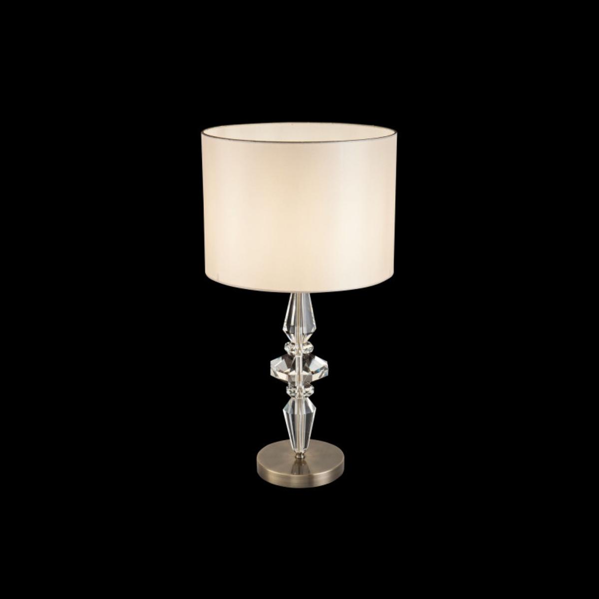 Купить Настольная лампа Diamant Crystal+DIA091TL Настольная лампа Maytoni DIA091TL-01BZ (14327), HomeMe