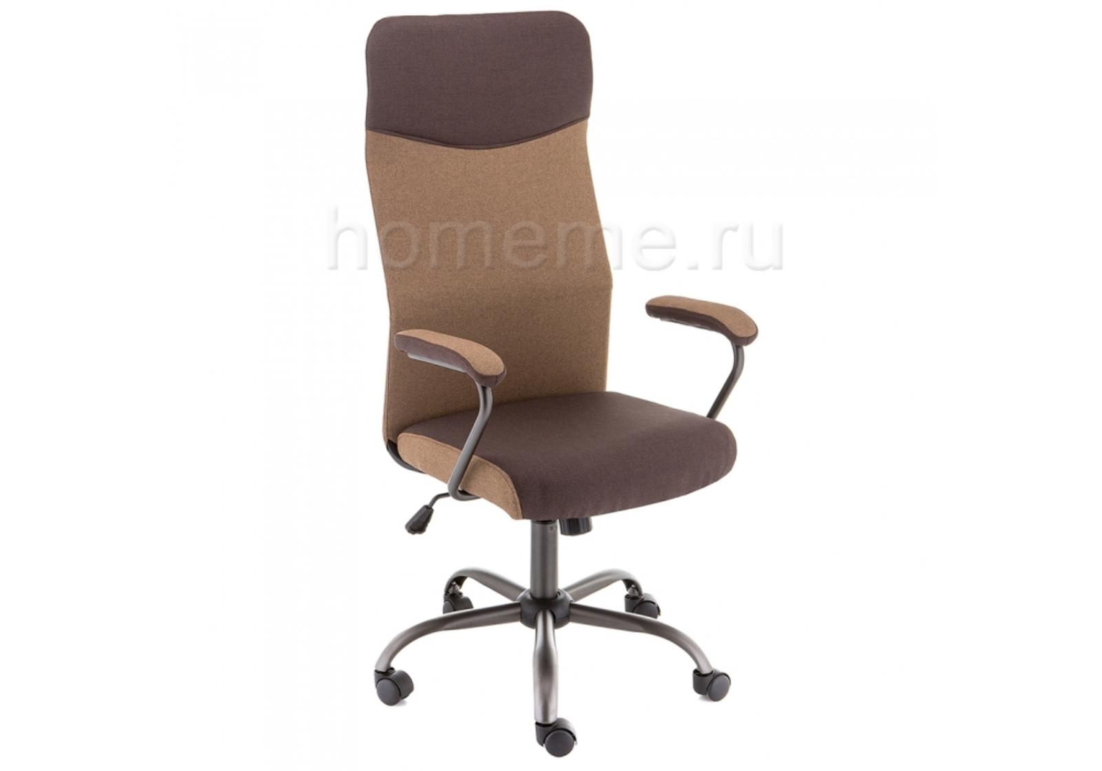Кресло для офиса HomeMe Aven коричневое 11279 от Homeme.ru