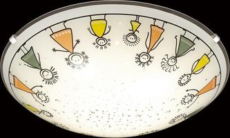 Детский светильник Sonex 2068/BL