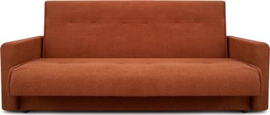 Диван Милан 120 коричневый ПБ