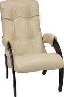 Кресло для отдыха Модель 61 Венге, к/з Polaris Beige