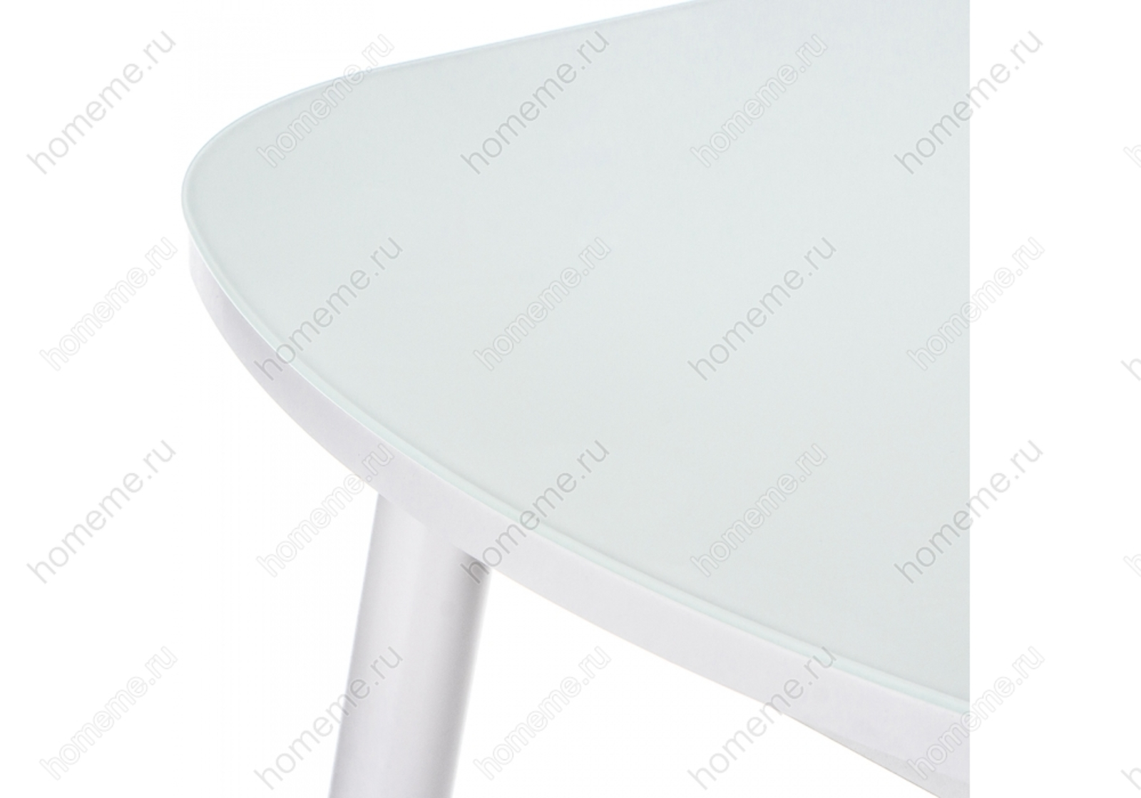 Стол стеклянный Вивьен 94 белый 302623 Вивьен 94 белый 302623 (15311)