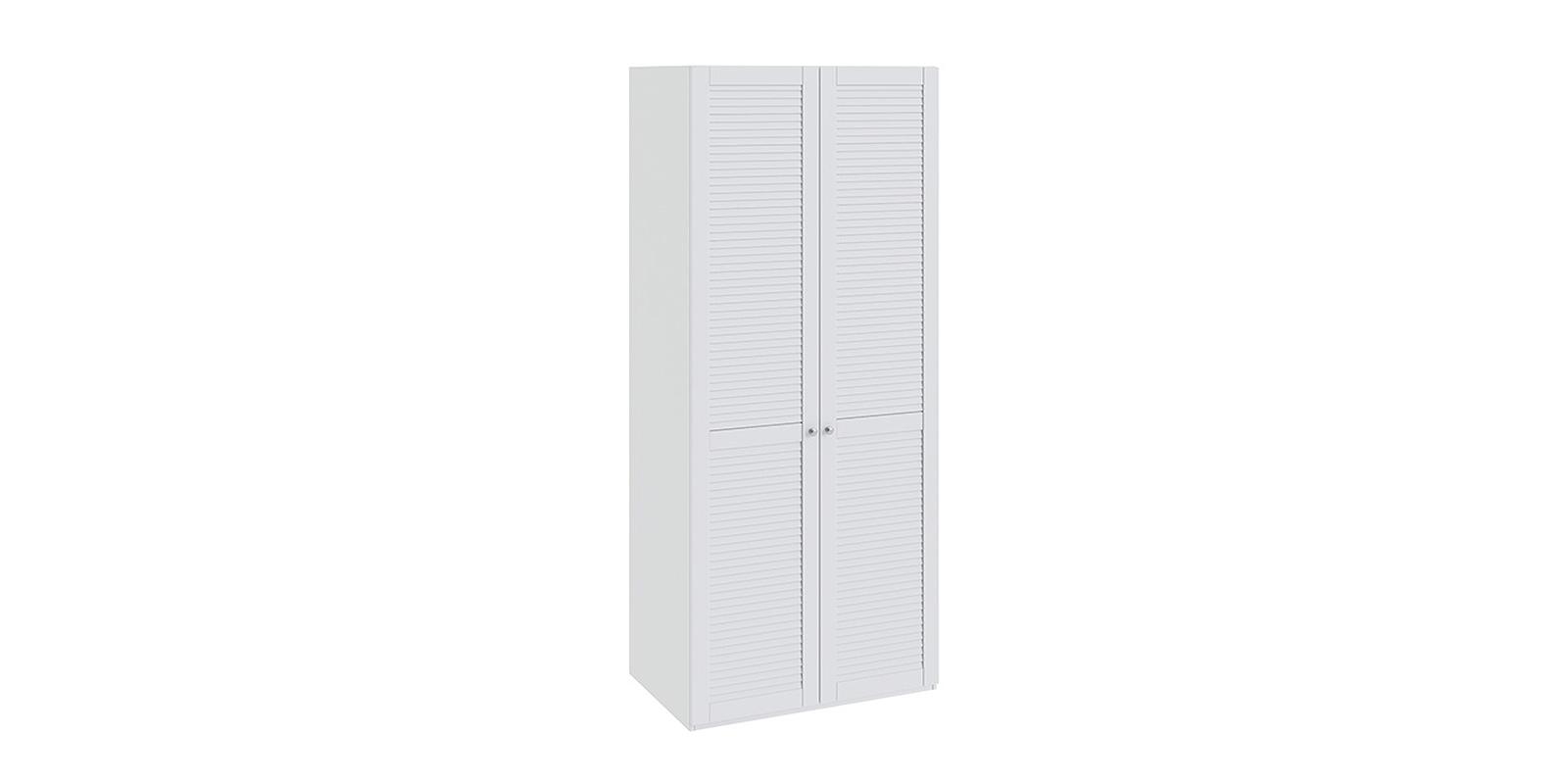 Шкаф распашной двухдверный Мерида вариант №5 (белый)