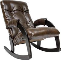 Кресло-качалка Модель 67 Венге, к/з Antik crocodile