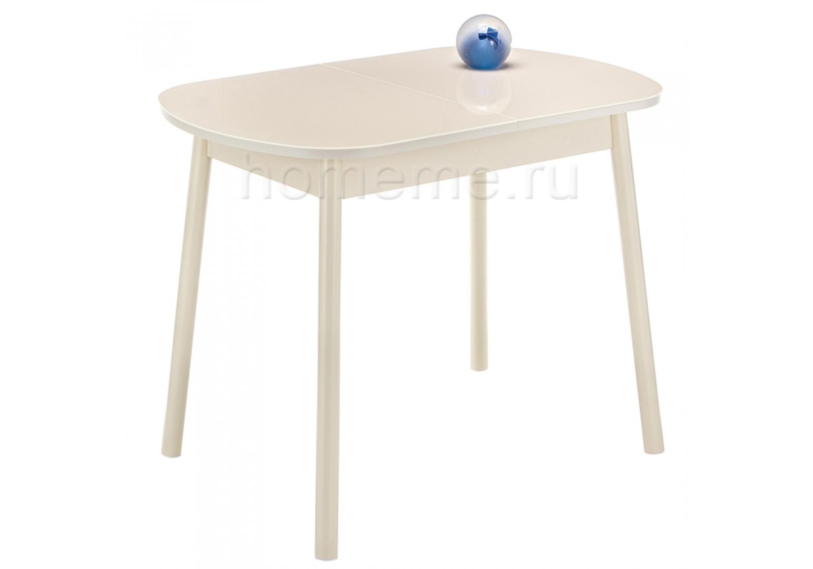 Кухонный стол HomeMe Вивьен 94 кремовый 302624 от Homeme.ru