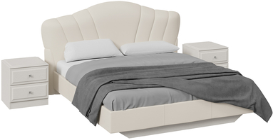 Спальный гарнитур «Сабрина» стандартный без шкафа