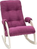 Кресло-качалка Модель 67 Дуб шампань, ткань Verona Cyklam