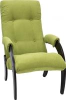 Кресло для отдыха Модель 61 Венге, ткань Verona Apple Green