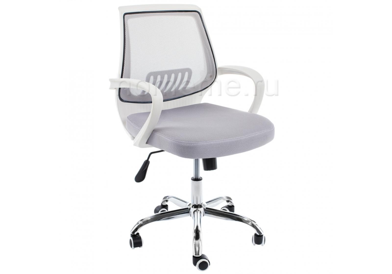Кресло для офиса HomeMe Ergoplus белое / серое 1970 от Homeme.ru