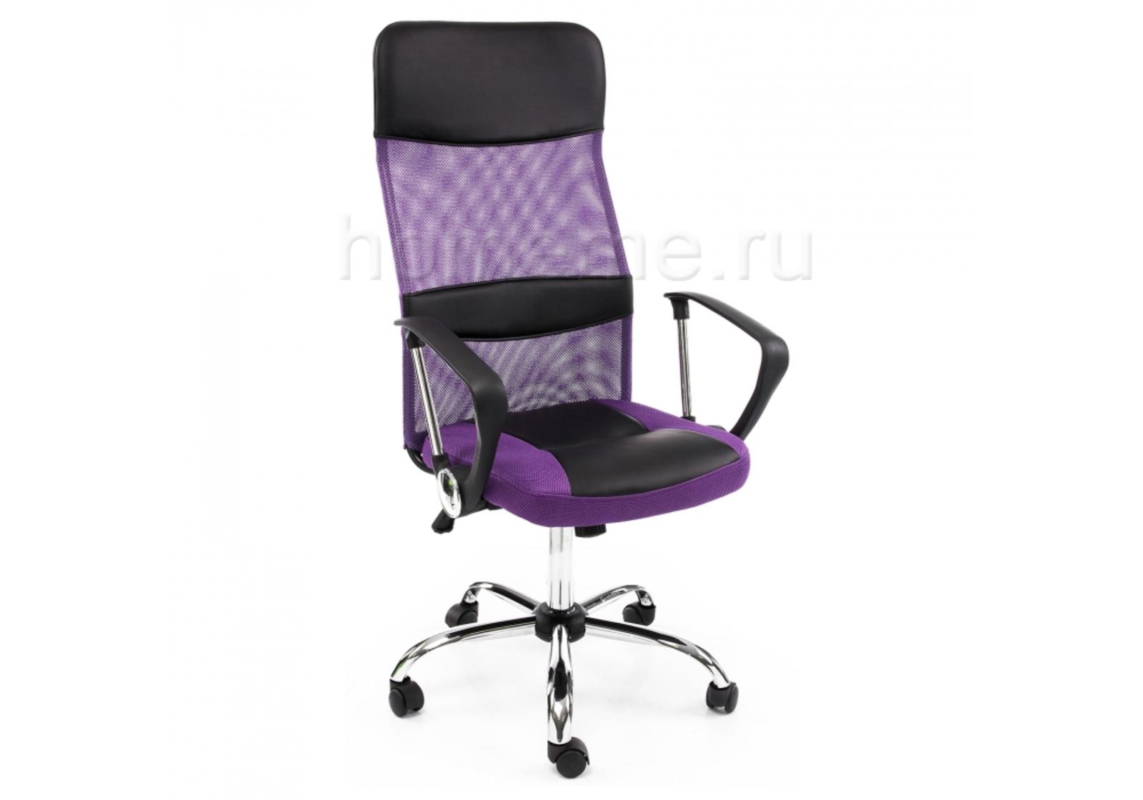 Кресло для офиса HomeMe Arano фиолетовое 1646 от Homeme.ru