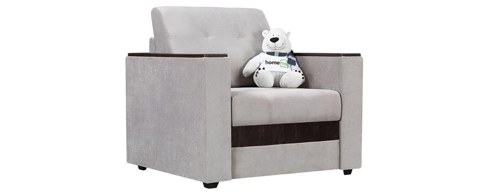 Кресло тканевое Атланта Velutto светло-серый (Велюр)