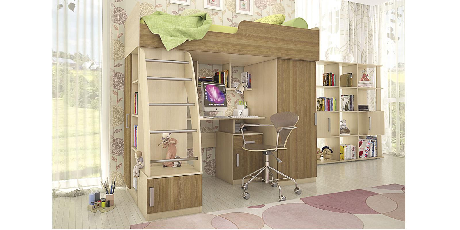 Комод детский HomeMe Лакки от Homeme.ru
