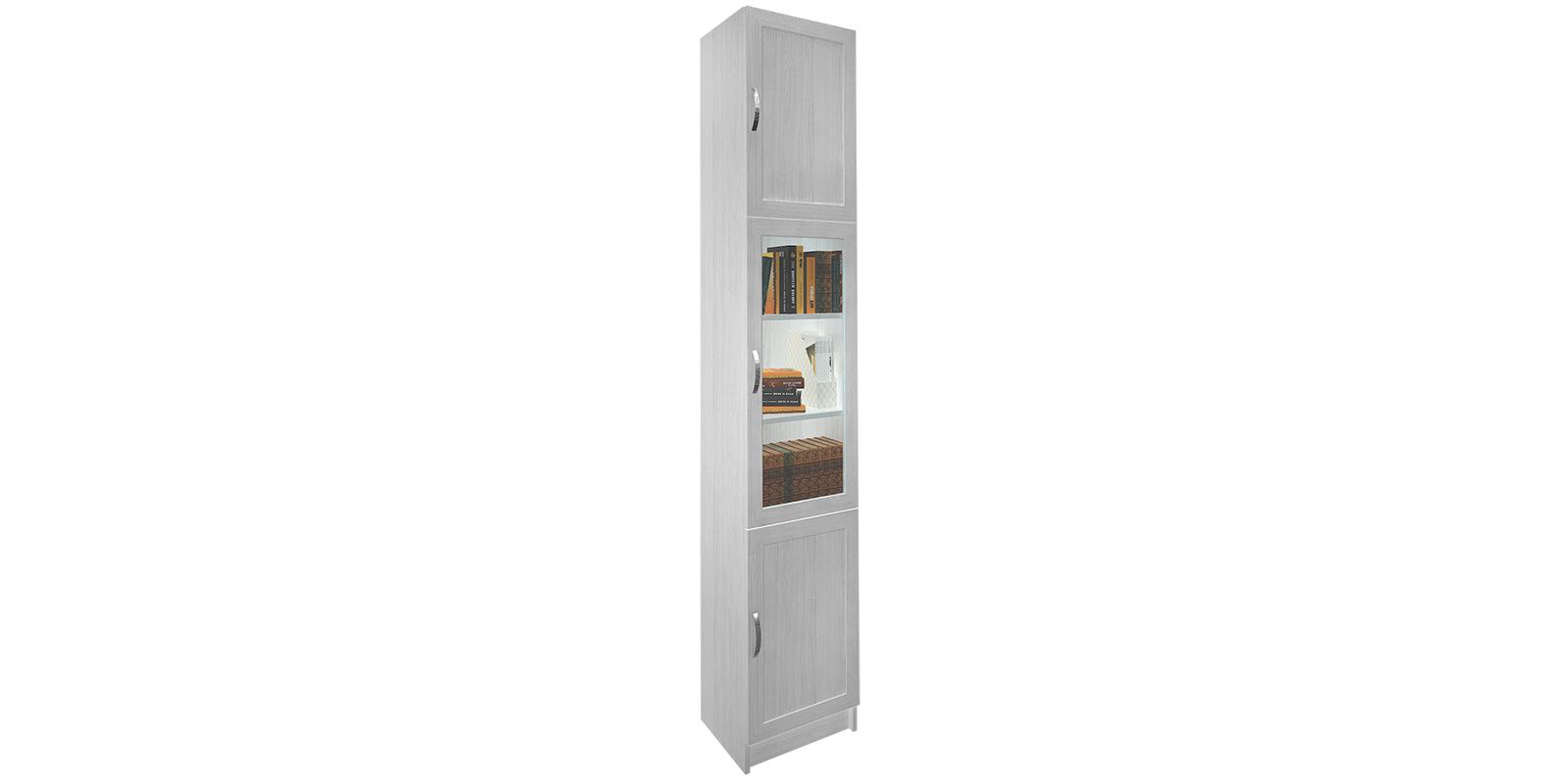 Шкаф витрина Дрезден вариант №2 40 см (белый) от HomeMe.ru