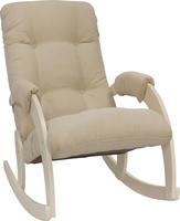 Кресло-качалка Модель 67 Дуб шампань, ткань Verona Vanilla