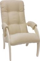 Кресло для отдыха Модель 61 Дуб шампань, ткань Verona Vanilla