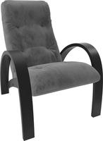 Кресло для отдыха Модель S7 Венге/шпон, ткань Verona Antrazite Grey