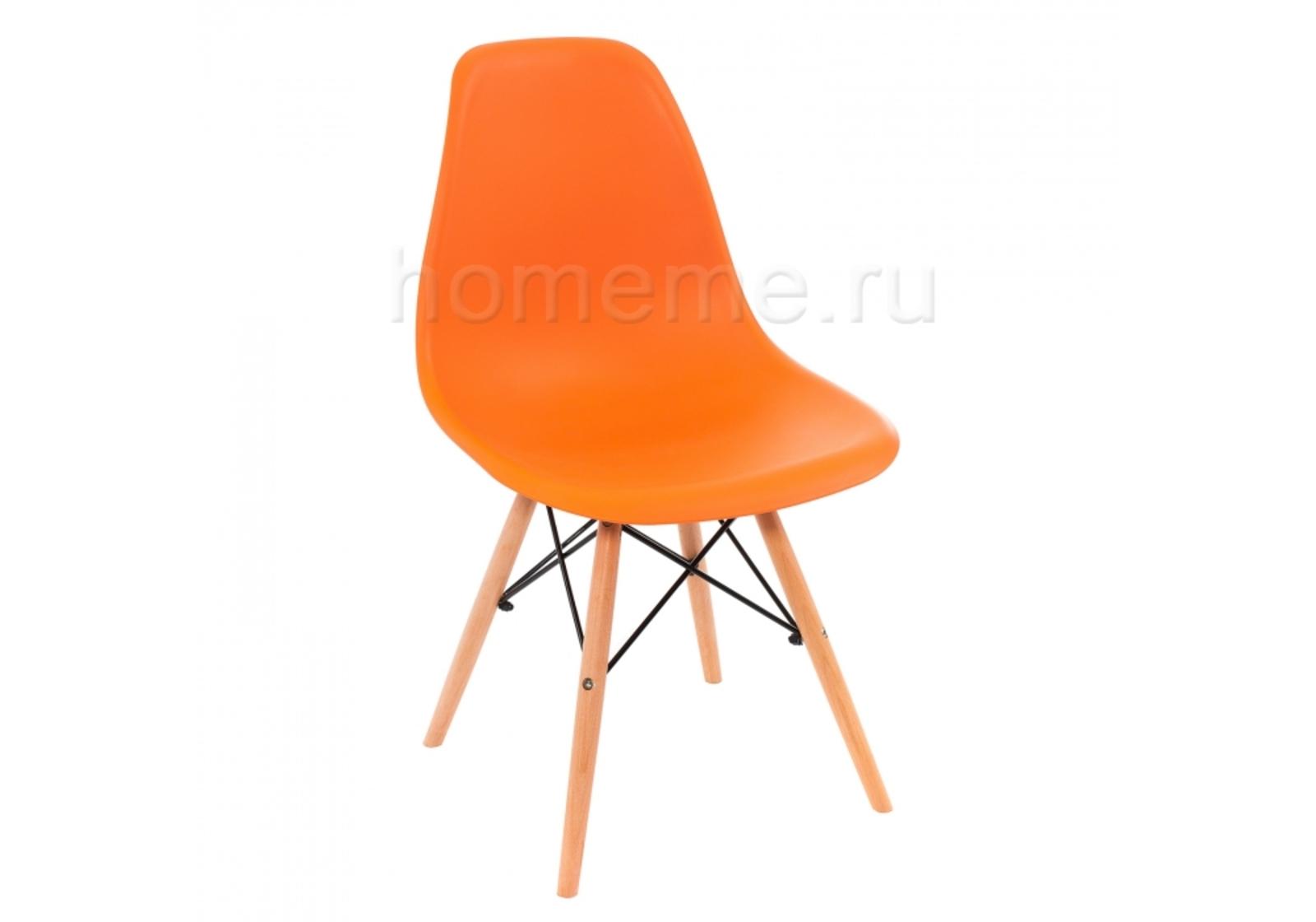 Стул HomeMe Eames PC-015 оранжевый 1924 от Homeme.ru