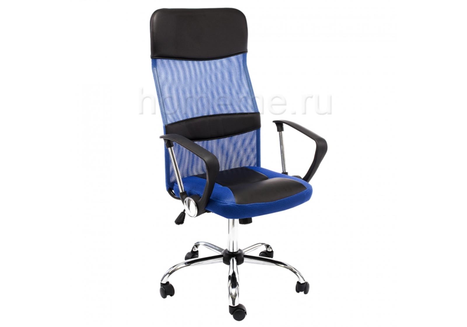 Кресло для офиса HomeMe Arano синее 1647 от Homeme.ru