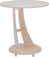 """Подкатной столик Leset """"Акцент 2"""" Молочный дуб"""