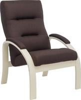 Кресло Leset Лион Слоновая кость, ткань Малмо 28