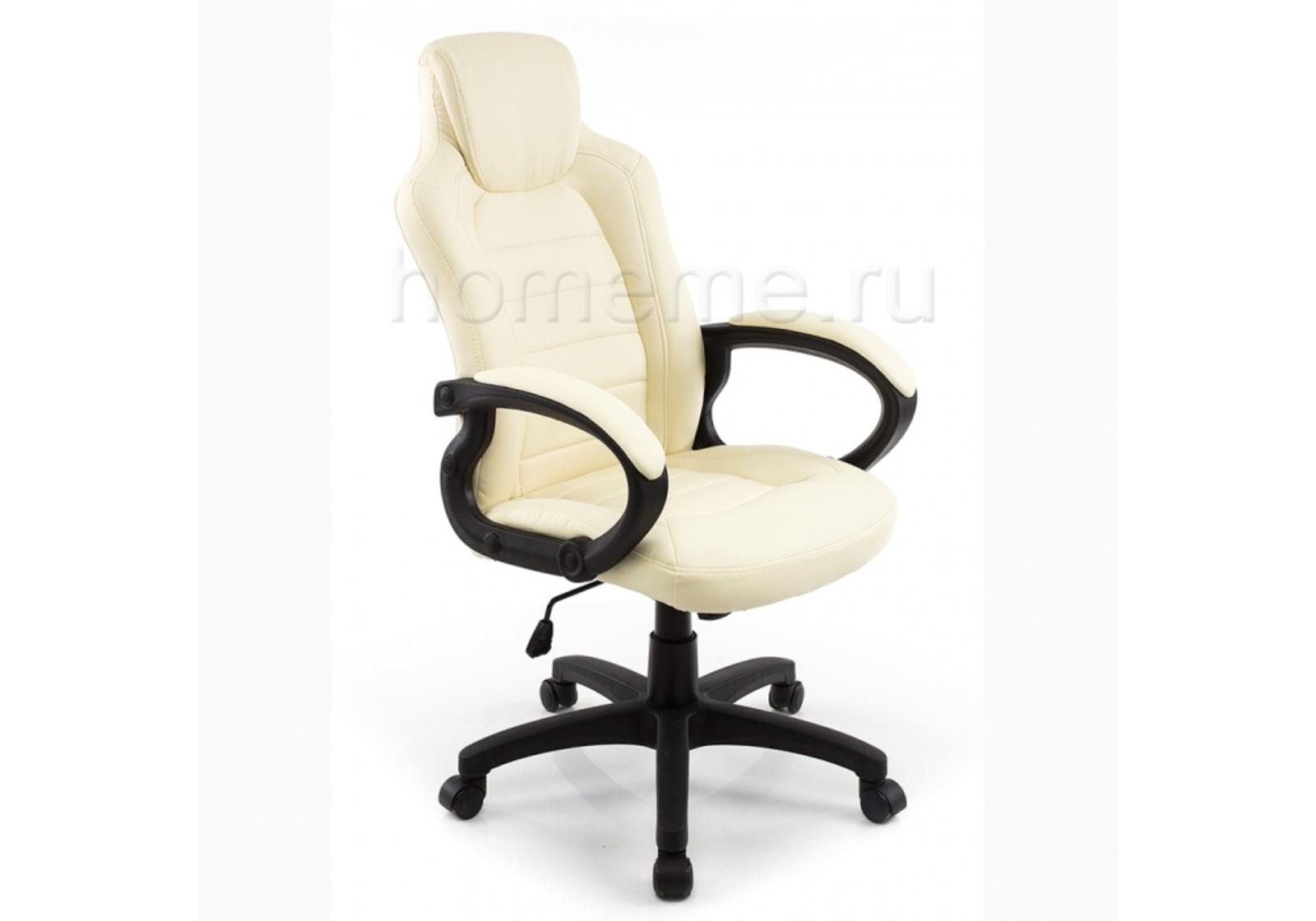 Кресло для офиса HomeMe Kadis кремовое 1727 от Homeme.ru