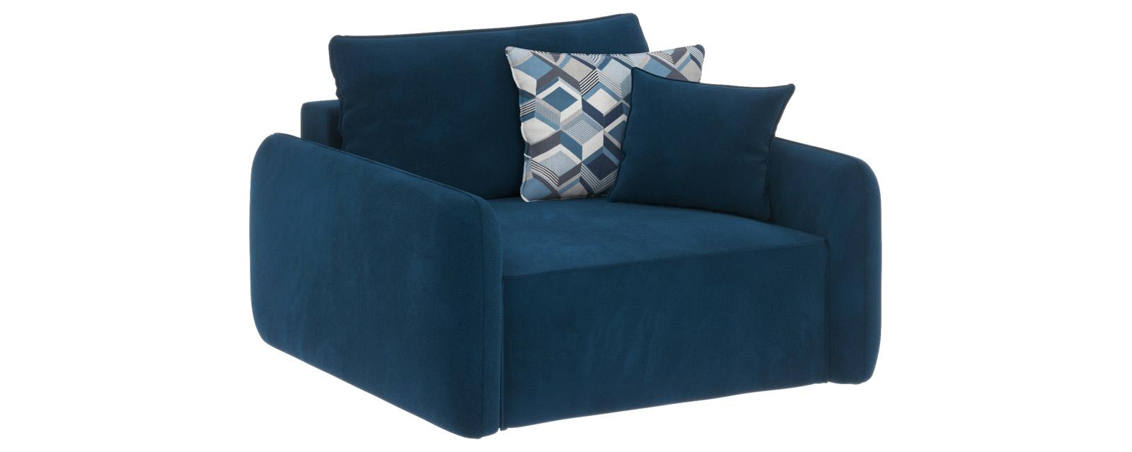 Купить Модульный диван Портленд Premier светло-синий (Микровелюр), HomeMe, Светло-синий