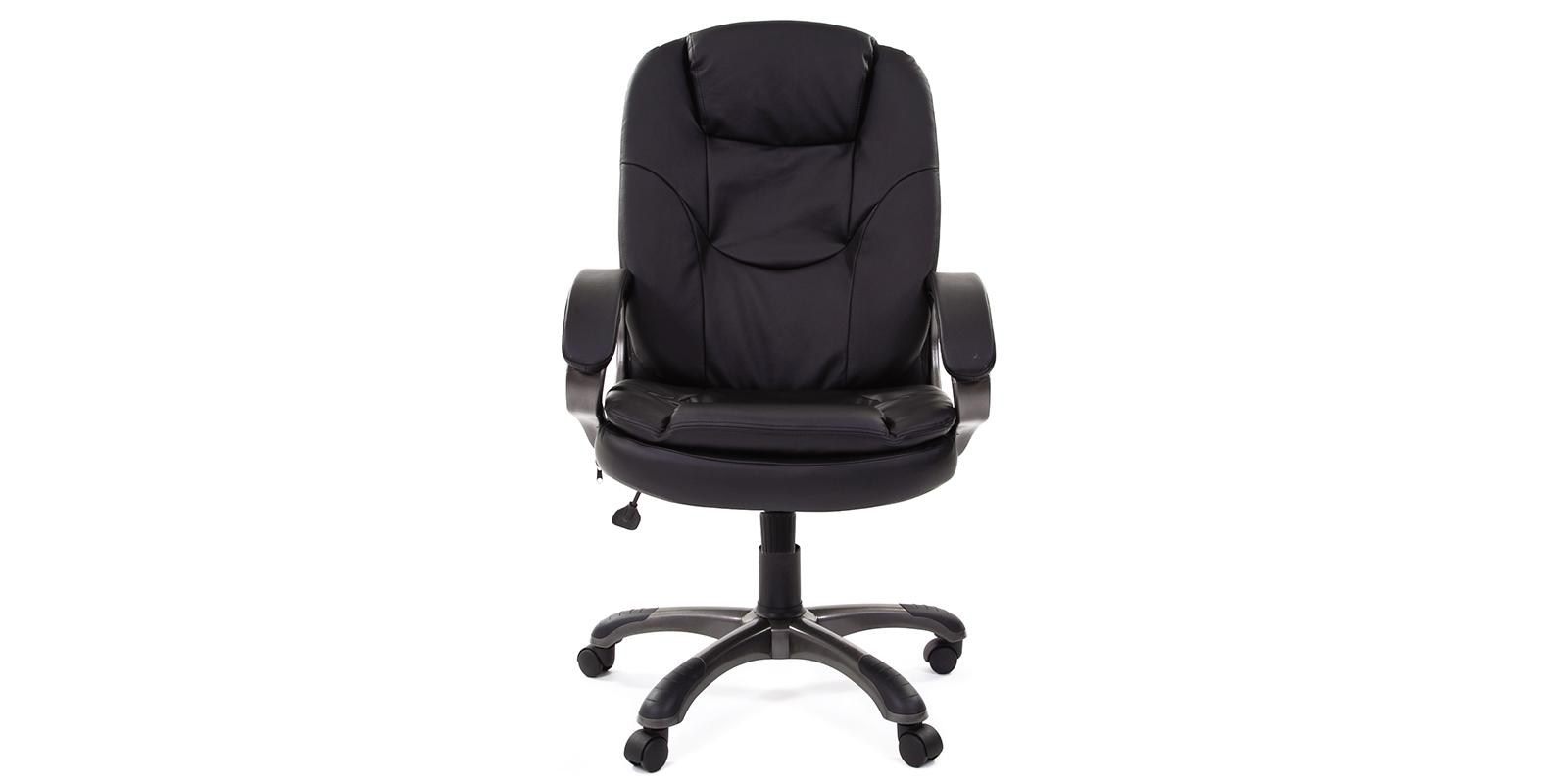 Кресло для руководителя Chairman 668 вариант №1 (черный) от HomeMe.ru