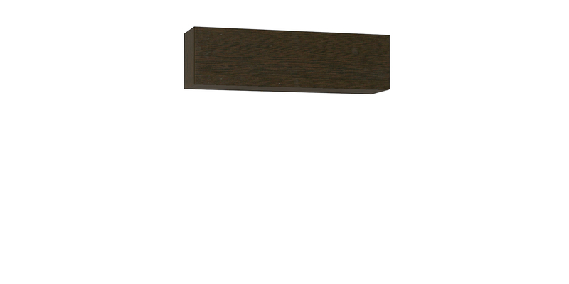 Шкаф навесной Верона 120 см (венге)