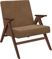 Кресло для отдыха Вест Орех, ткань Verona Brown, кант Verona Brown