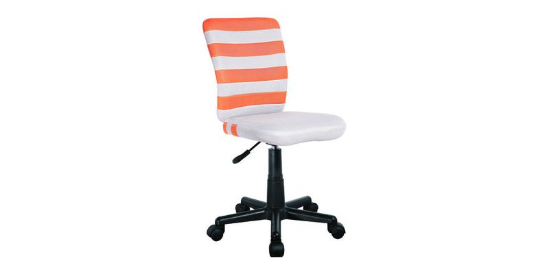 Детское кресло Lst9 (серый/оранжевый)