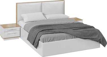 Спальный гарнитур «Квадро» стандартный без шкафа