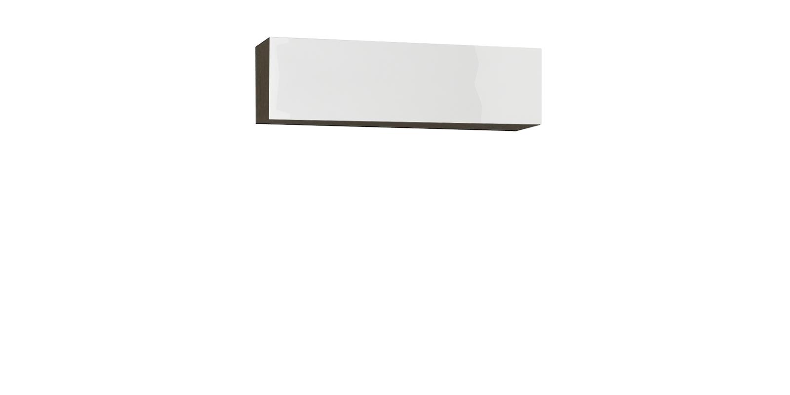 Шкаф навесной Верона 120 см (венгебелый глянец)